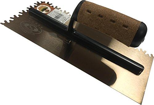 Tabor Tool 9 Cork Stainless Steel Plastering Trowel