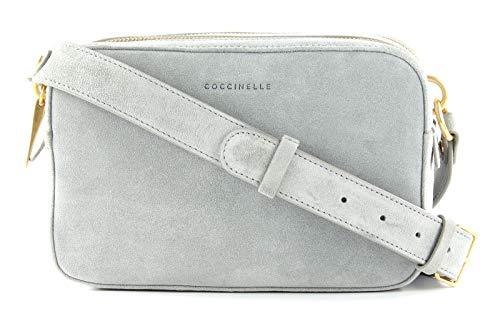 Coccinelle Alpha Suede Umhängetasche Leder 23 cm