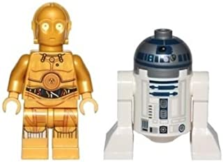 LEGO Star Wars Minifigure Droids - C-3PO and R2-D2 (75136)