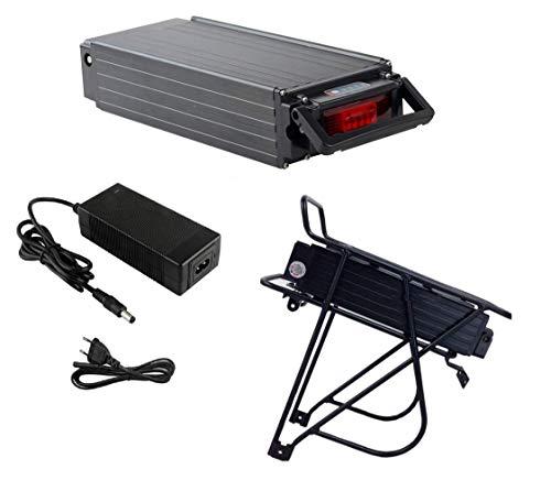 TZIPower Batterie de vélo électrique 36 V 25 Ah pour porte-bagages, vélo électrique, batterie de cadre au lithium-ion, kit de conversion