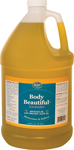 Best Buy! Body Beautiful Lavender Massage Oil and Skin Lotion, Gallon