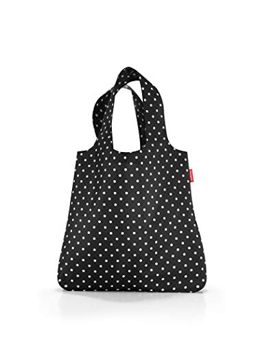 reisenthel mini maxi shopper mixed dots Sac de sport grand format 60 centimeters 15 Noir (Mixed Dots)