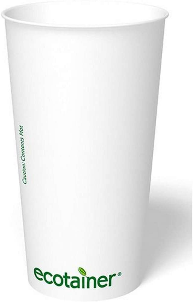 ecotainer Carte Blanc Paper Cup Hot 20 Fort Gorgeous Worth Mall oz.
