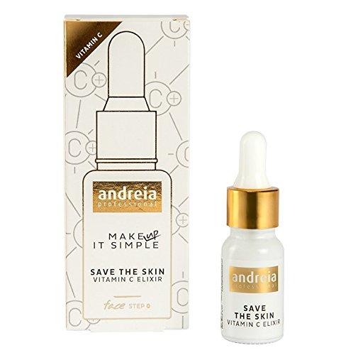 Vitamine C serum voor gezicht - Elixir door Andreia Profesional |BEWAAR DE HUID en red de vermoeide huid met een boost van energie, helderheid en vocht | Met antioxiderende werking - flesje van 10 ml