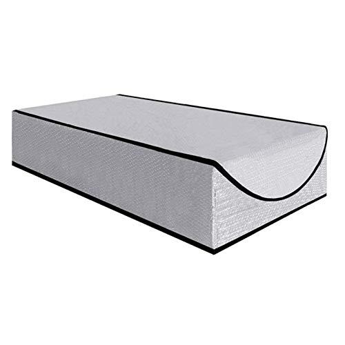 Beautymei Dachboden-Treppen-Isolationsabdeckung, Premium-Energieeinsparung, Dachboden-Treppe, Tür-Leiter, Isolator zum Herunterziehen, Zeltdachabdeckung, Aluminiumfolie, Tür-Isolator-Kit