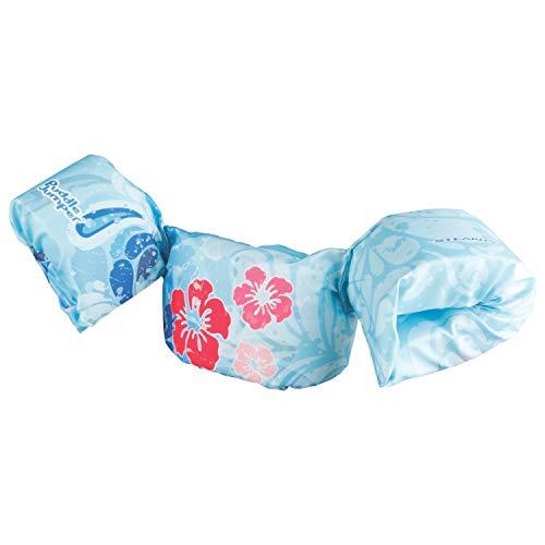 Stearns Original Puddle Jumper Kids Life Jacket | Deluxe Life Vest for Children, Blue Flower