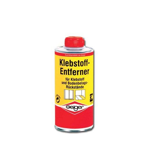 Geiger Klebstoffentferner 750ml - Etikettenentferner löst Klebeverbindungen Alleskleber, Schaumstoffkleber, Holzleim, Dispersionskleber