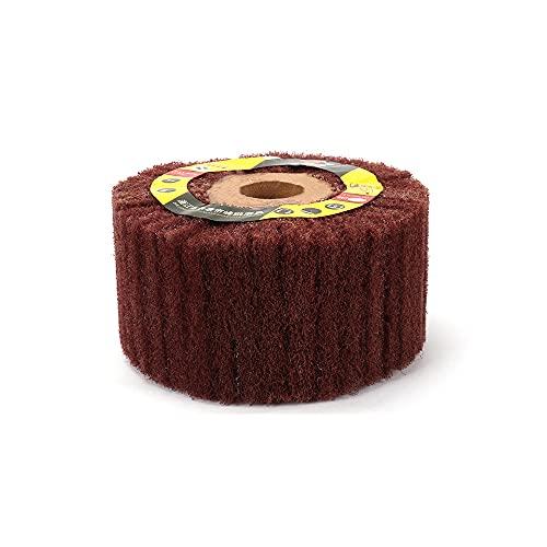 Grinding Wheel Non-Woven Scouring Pad Flap100mm-300Mm Mop Polishing Wheel Disc 1Pc Diameter 100mm