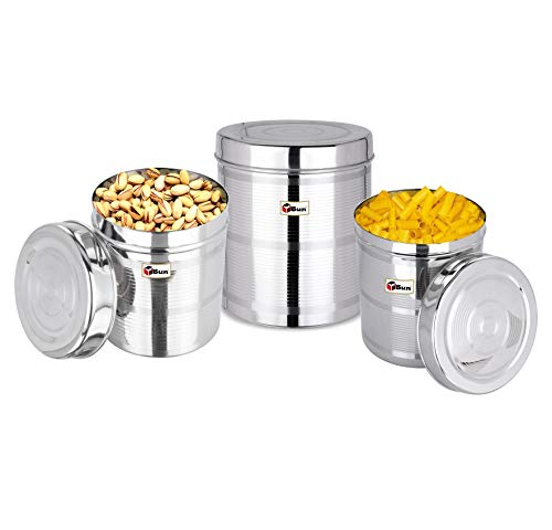 Ebun-Stainless-Steel-Container-Set-for-Kitchen-Airtight-Heavy-Gauge-Steel-Dabba-Small-Size-Set-of-3-Silver-Touch-Lining-Design