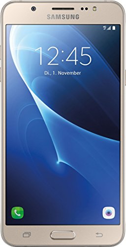 Samsung Galaxy J7 (2016) Smartphone (13,95 cm (5,5 Zoll) HD Super AMOLED-Display, 16 GB, Android 6.0 Marshmallow) gold