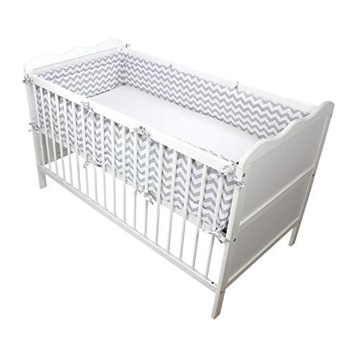 TupTam Protector para Cama de Bebé...