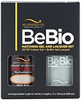 Bio Seaweed BeBio Matching Gel And Nail Lacquer Set (Amy #1006)