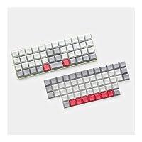 メカニカルキーボード OrtholinearレイアウトMXキーボードXD75 ID75に適したブランクキーキャップ,耐久性のあるゲーミングキーボード (Color : DSA 104 Key)
