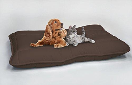 Maxy Cuscinone per Cani Imbottito 60x100cm marrone