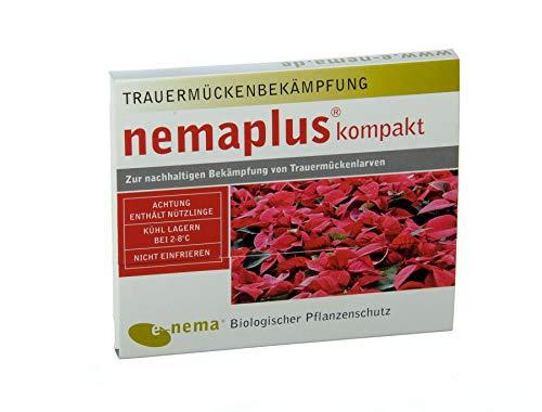 nemaplus® kompakt SF Nematoden zur Bekämpfung von Trauermücken | 2 x 5 Mio. für 10m² Blumenerde oder 50 Pflanzen