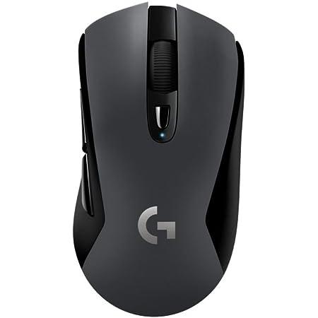 Logitech G603 LIGHTSPEED Ratón Gaming Inalámbrico, Bluetooth o 2.4GHz con Receptor USB, Captor HERO 12K, 12,000 DPI, 6 Botónes Programables, Memoria ...