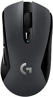 Logitech Logitech G603 无线游戏鼠标,带 HERO 光学传感器 (12.000 DPI)910-005101 G603 DE