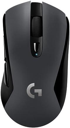 Logitech G603 - Ratón inalámbrico para Gaming con Sensor óptico Hero (12.000 dpi), Paquete Alemán