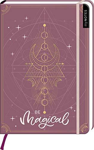 myNOTES Notizbuch A5: Be magical: Notebook medium, dotted - für Träume, Pläne und Ideen / ideal als Bullet Journal oder Tagebuch