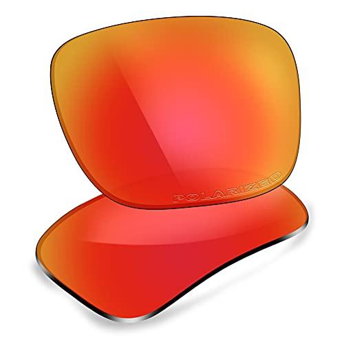 ThunderClap Lentes de repuesto polarizadas para gafas de sol Arnette Fastball AN4202, Aurora Red - Polarizado, Talla única