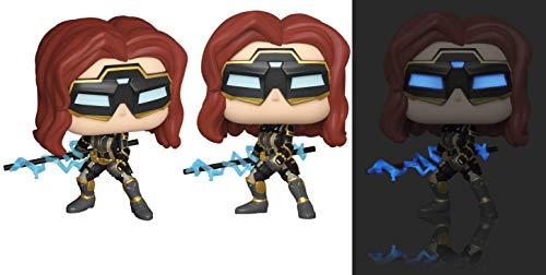 POP! Marvel: Avengers Game- Black Widow (Stark Tech Suit) w/GW Chase (Edition spéciale)