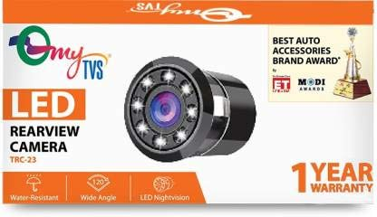 myTVS TRC-23 8 LED Car Rear View Camera for All Cars