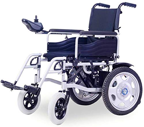 Electric Wheelchairs For Adults 2020 Folding Electric Powered Wheelchair Lightweight Portable Smart Chair Personal Mobility Scooter Wheelchair Wheelchair Suitable For Elderly People with Disabilities,