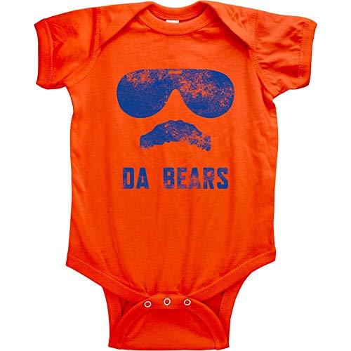 Original Vintage Da Bears Ditka Funny Infant Bodysuit (6M, Da Bears Orange)