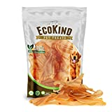 EcoKind Premium Cow Ears for Dogs | 12 Pack | Healthy Dog Chews, 100% Natural, Long Lasting Dog Treats Sourced from All Natural, Grass Fed Cattle with No Additives, Rawhide & Dog Toys Alternative