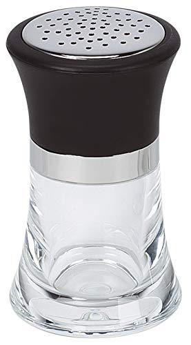 MGE - Dispensador de Especias - Espolvoreador/Dosificador - Bote de Condimento - Acrílico y Acero Inoxidable (Queso/Especias)