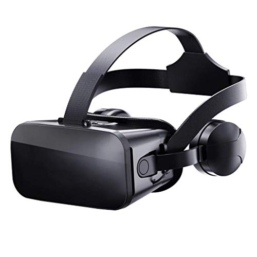 Lowest Prices! VR Glasses,3D Goggles,Virtual Reality Viewer with Stereo Headset and Blu-Ray Lens and...