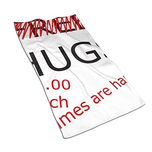Generieke 27.5 * 15,7 inch Handdoek Geen Gratis Knuffels Zachte Super Absorberende Fluffy Handdoek Katoen Gepersonaliseerd Vierkant Gezicht Zacht Hotel Bad