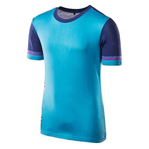 Intelligence Quality Colisa JRG - Camiseta para niña, otoño/Invierno, Niñas, Color Enamel Blue/Blue Print, tamaño 152