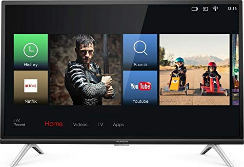 DC Thomson - TV Led 32 - Thomson 32He5606, HD Ready, Smart TV, Android TV, USB, Hdmi, A+, Negro