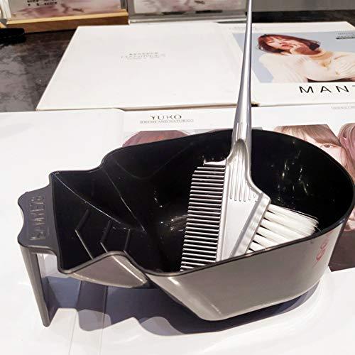 WANGXN 3pcs Coiffure Brosses Bowl Combo Salon Couleur des Cheveux Dye Tint Tool Set Kit Coloration Cheveux