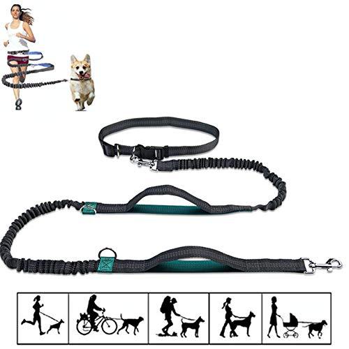 Handsfree Hond Lood Hond Lood Hondenriem Voor Kleine Honden Leiband Voor Grote Honden Slip Lead Voor Honden Dog Training Lead Hond Lood Riem green1