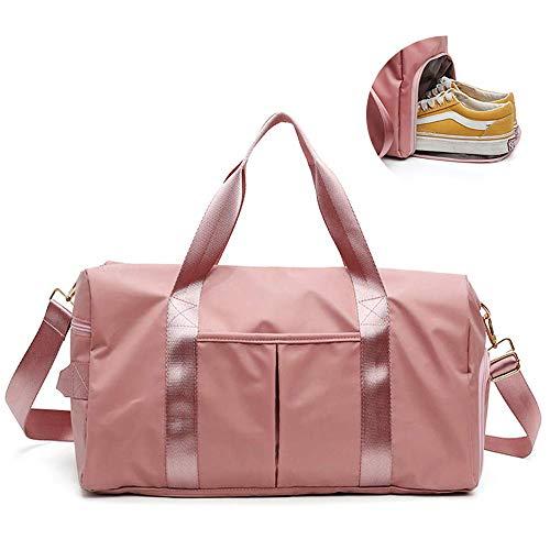 Henzin Sporttasche Reisetasche mit Schuhfach & Nassfach,Wasserdicht Fitnesstasche für Männer und Frauen, Trainingstasche für Sport, Fitness, Gym,Travel Bag,Duffel Bag