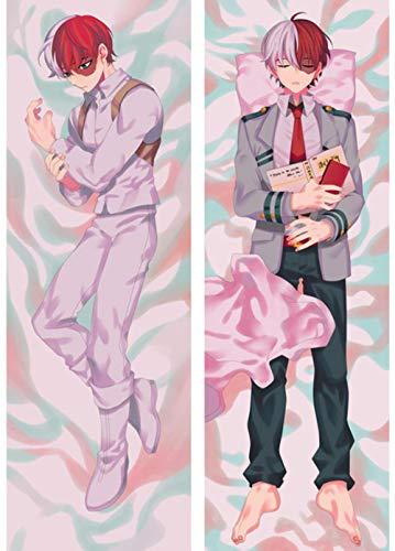 My Hero Academia Katsuki Bakugo Japanese Anime Hugging Body Dakimakura Pillow Cover Case E 150x50cm Peach skinFundas Decorativas para Almohada