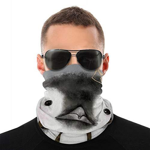 SYDIYIWL Pinguin Multi Headwear Gesichtsschutz Schal Sturmhaube Halstuch Unisex