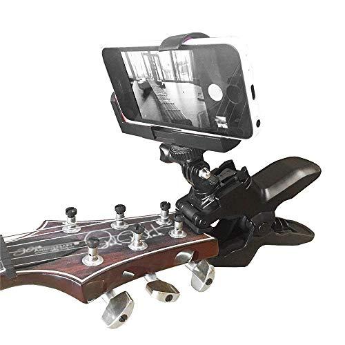 VFUM Auto Telefoon Houder Clip Mount Houder Mobiele Telefoon Klem Voor Smartphones En Voor Gopro Action Camera's - Close Up Home Recording Guitar Ukulele Clip