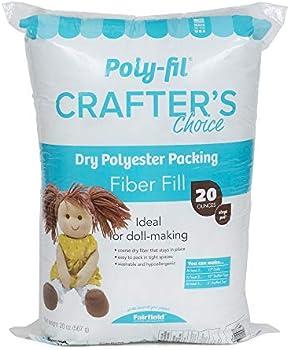Fairfield CCDF20 Crafter's Choice Polyester Fiberfill-20 Ounces