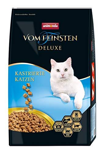animonda Vom Feinsten Deluxe Adult Katzenfutter, Trockenfutter für kastrierte Katzen, aus Geflügel, 10 kg