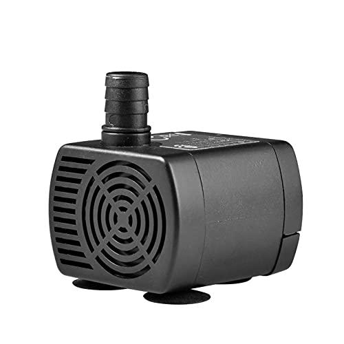Zirkulation Mini Wasserpumpe, geräuscharme Wasserpumpe für Aquarium 3M Kopf DC Pumpe 12V / 3M 66gph (250l / h)
