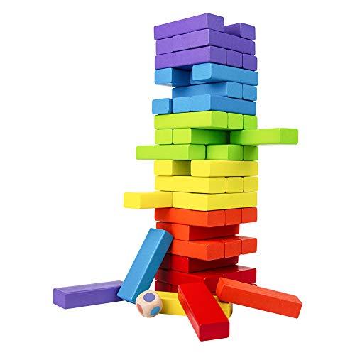 TONZE Giocattolo Legno Colorato Gioco di Precisione e Abilità