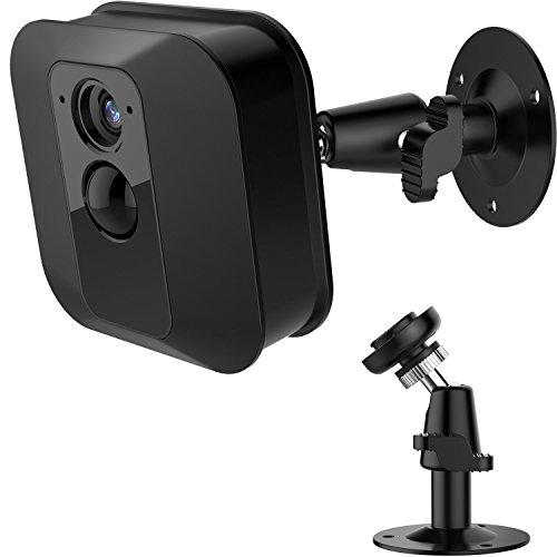 Blulu Adjustable Wall Mount 360 Degree Mounting Bracket for Blink XT Indoor/Outdoor Security Camera (1, Black)