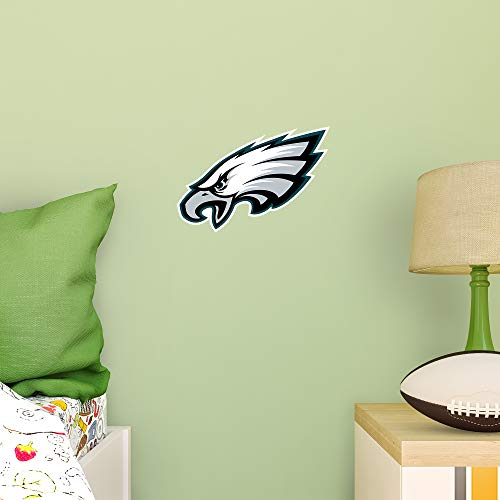 FATHEAD NFL Philadelphia Eagles - Logo Teammate- Officially Licensed Removable Wall Decal, Multicolor, Big, Large - 89-03362