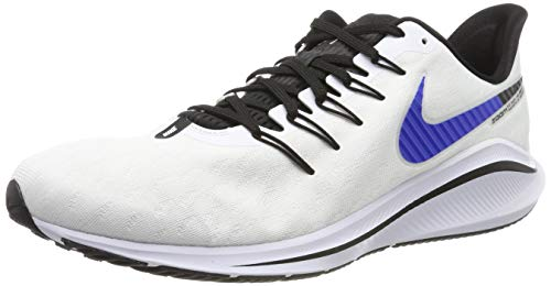 Nike Air Zoom Vomero 14, Zapatillas de Running para Hombre, Blanco (White/Racer Blue/Platinum Tint/Black 101), 41 EU