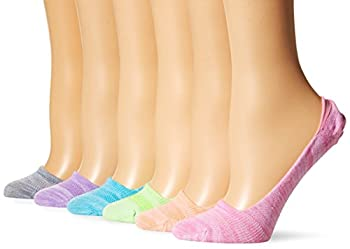 Hanes Women s 6-Pack Invisible Comfort Ballerina Liner Light Asst 5-9