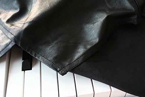 Clairevoire Abdeckung für ein digitales Klavier [perlenweis] für ein 88-Tasten Klavier | Passt auf Yamaha P125 / P115 | / P105 / P85 / P45 | Casio / PX150 / PX160 / PX360 / PX560 / PXA100 / PX 5S / CDP130 / CDP230