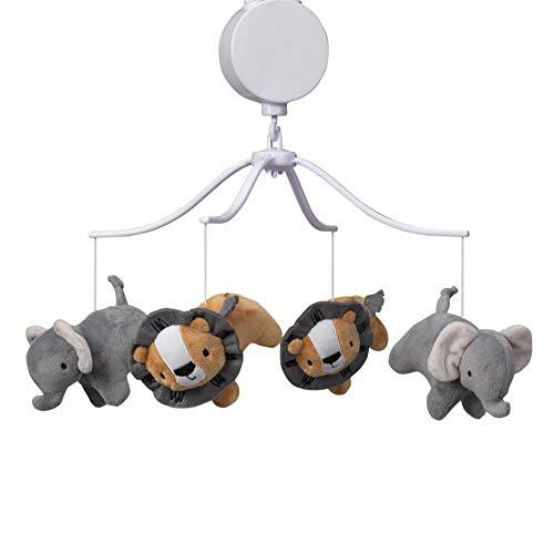 Bedtime Originals Jungle Fun Musical Baby Crib Mobile
